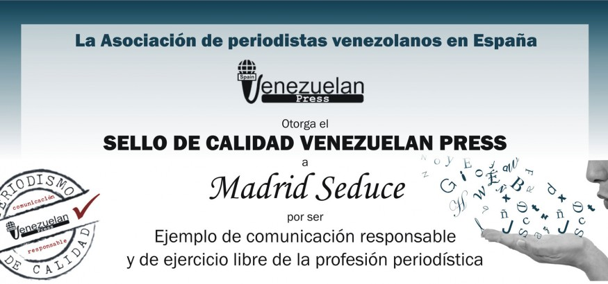 Sello de calidad para Madrid Seduce