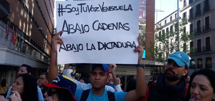 Debe continuar presión internacional sobre Venezuela manifiestan en Madrid