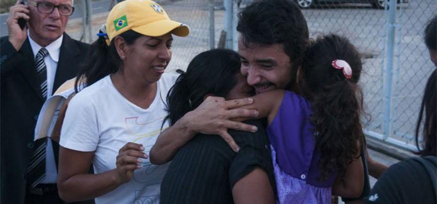 Yonathan Guédez, liberado