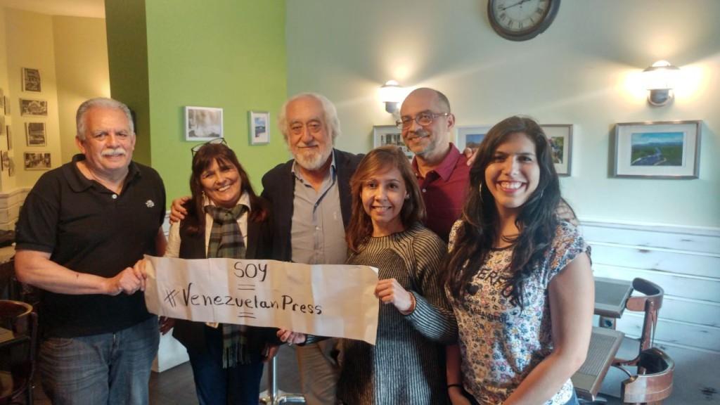 Josep Maldonado con Venezuelan Press