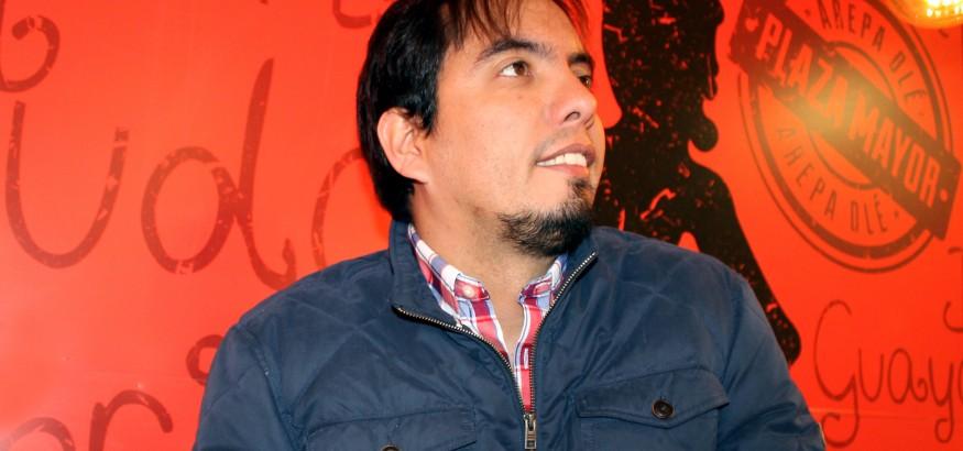 Edgar Rodríguez creador de Arepa Olé