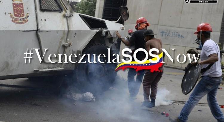 #VenezuelaSOS now