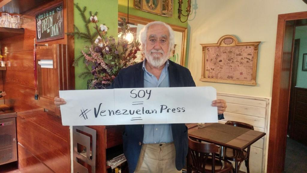Josep Maldonando amigo de Venezuelan Press