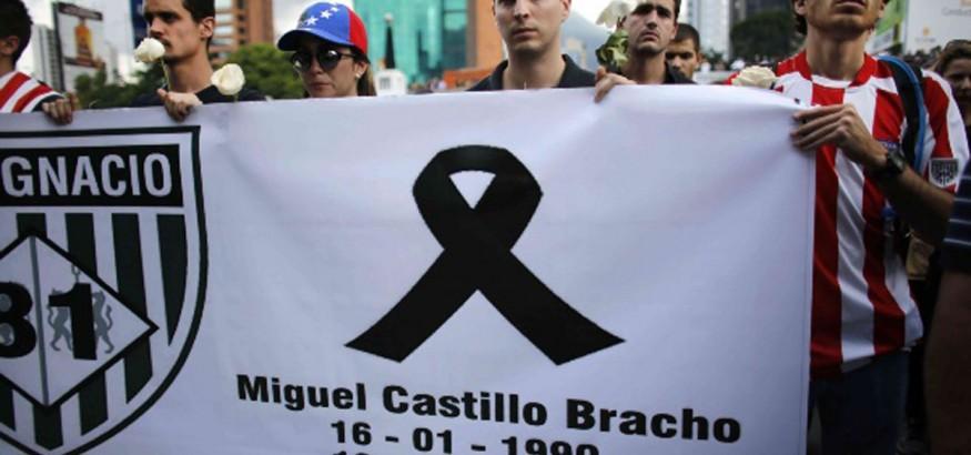 Despedida a Miguel Castillo. Foto: AP
