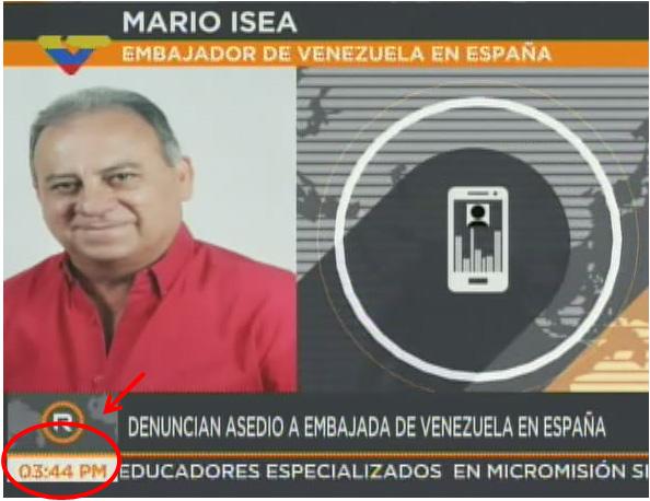 Secuestro Mario Isea