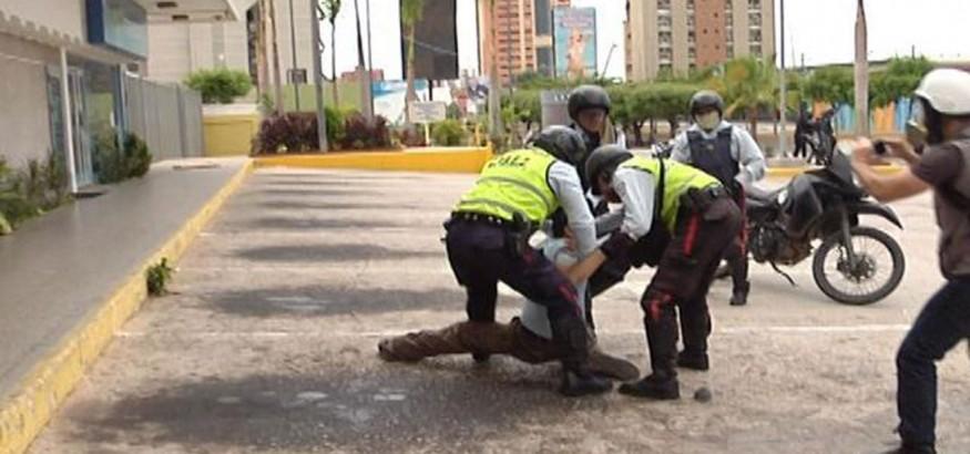 Ataque a periodista en Zulia el 11 de mayo de 2017
