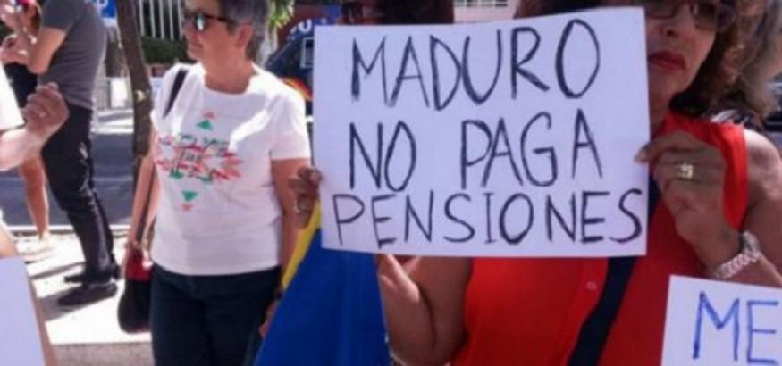 jubilados-venezolanos-piden pago de pensiones