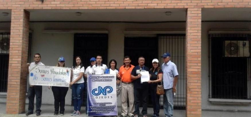 Periodistas acuden a Fiscalía en Cojedes