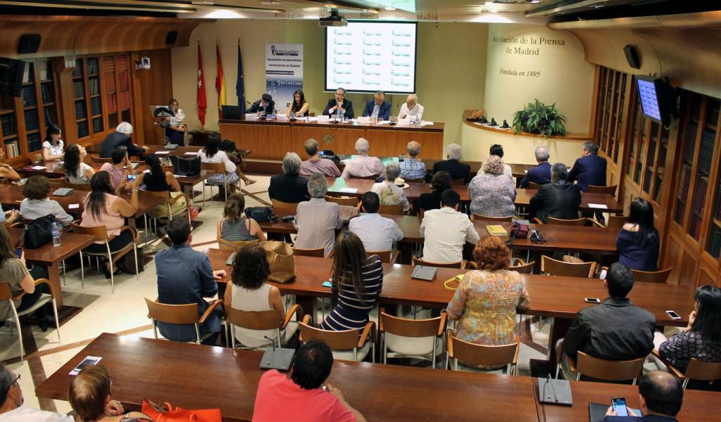 Auditorio APM en el II Aniversario de Venezuelan Press