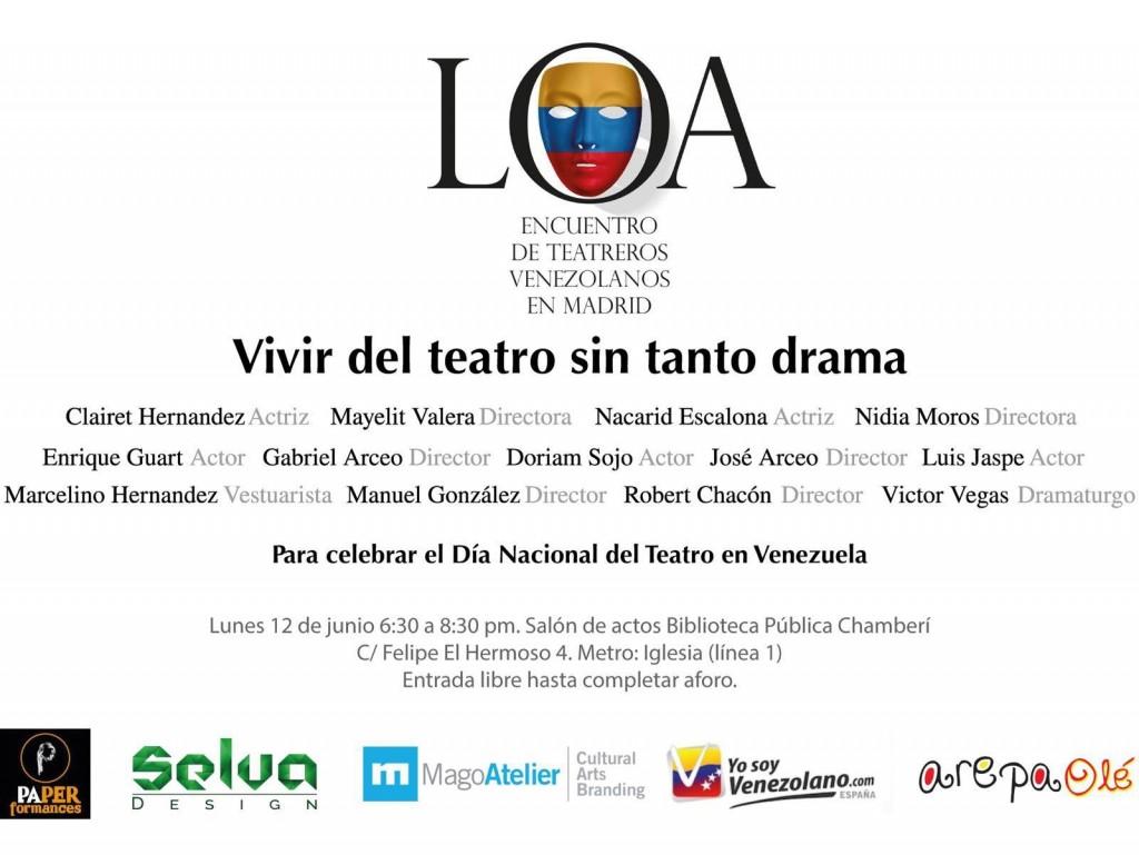 Encuentro teatreros venezolanos 2017