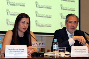 Miguel Henrique Otero y Carleth Morales Senges