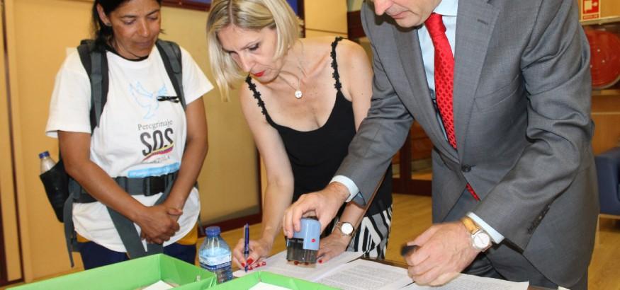 Parlamento Europeo recibe a Patricia