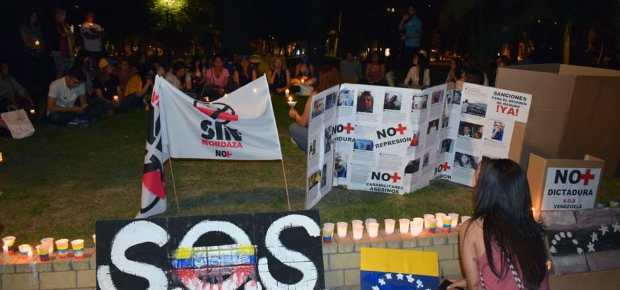 Vigilia Sin Mordaza en Madrid #1junio