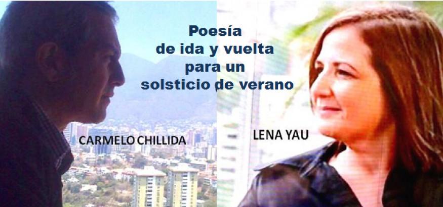 Poesía de ida y vuelta con Lena Yau y Carmelo Chillida