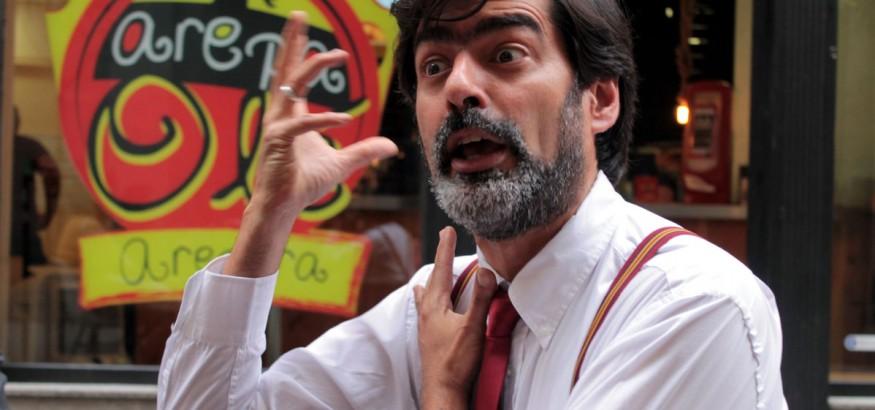 Profesor Briceño en Madrid