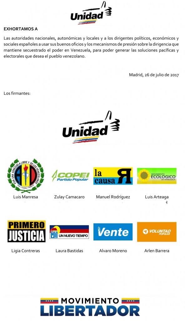 EXHORTO MUD MADRID A ESPAÑA 28 JUL 17-1