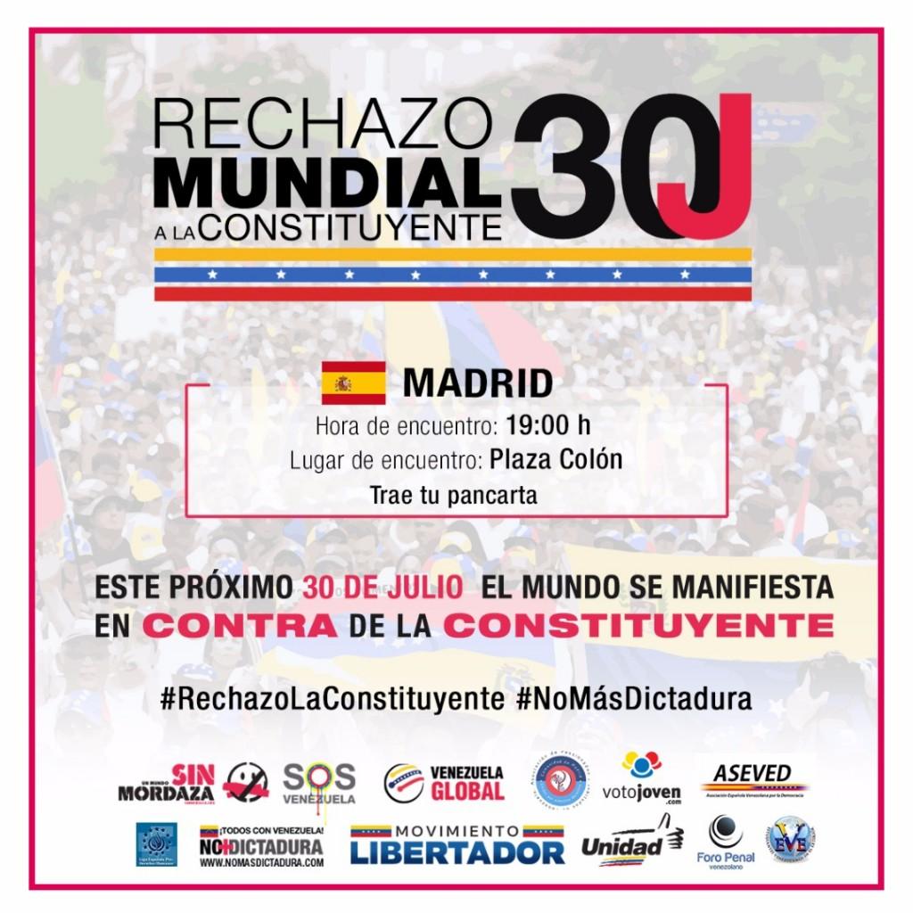 30 de julio en Madrid