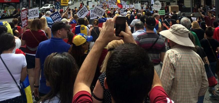 Marcha en Madrid. 28 de mayo 2017.
