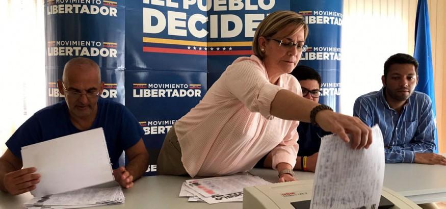 Unidad-Madrid-destruye-cuadernos de votacion