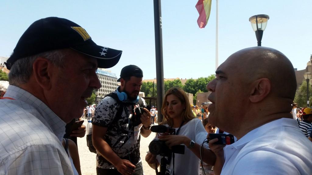 Chuo-Torrealba-en-Consulta Popular en Madrid y Barcelona