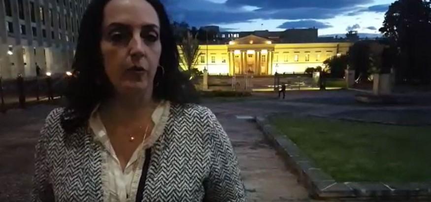 María Fernanda Cabal pedirá visa humanitaria para los venezolanos