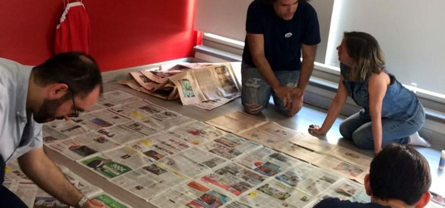 Paperformance y Un mundo sin mordaza