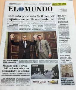 Portada El Mundo 6 julio 2017