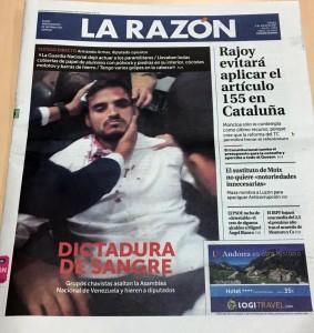 Portada La Razón 6 julio 2017
