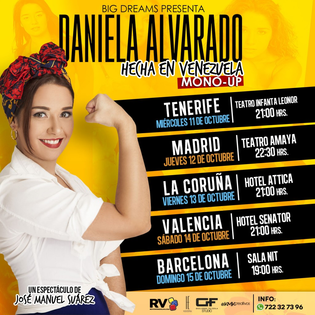 Daniela-Alvarado en España