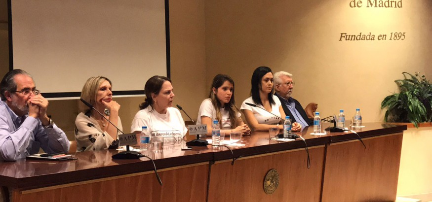 Mitzy Capriles de Ledezma en Madrid
