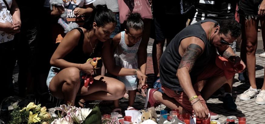 Vigilia atentado de Barcelona. Foto: Joaquín Ferrer