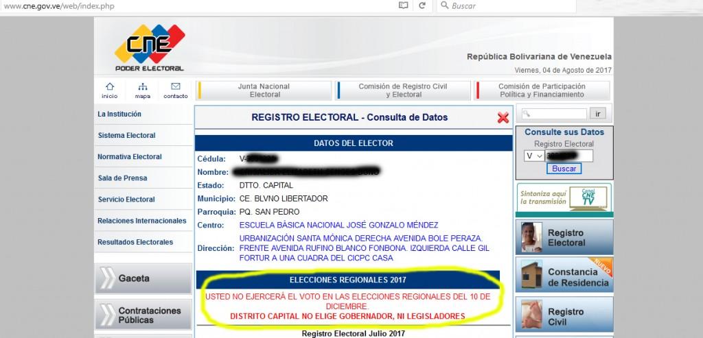 elecciones regionales 10 de diciembre