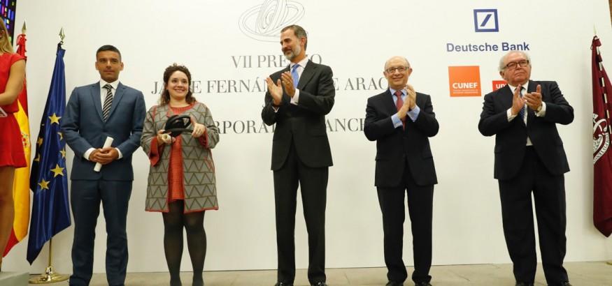 Daniel Paravisini recibe premio de manos de S.M. el Rey