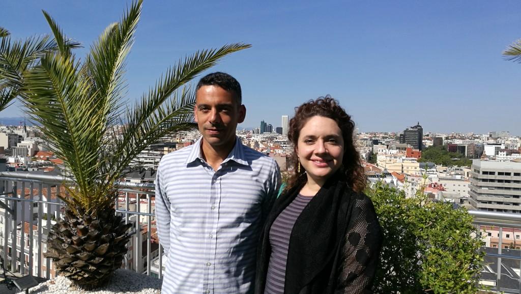 Daniel Paravisini y Juanita González-Uribe  en Madrid