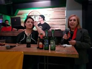 Daniela Alvarado con Venezuelan Press
