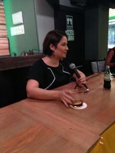 Daniela Alvarado en Madrid