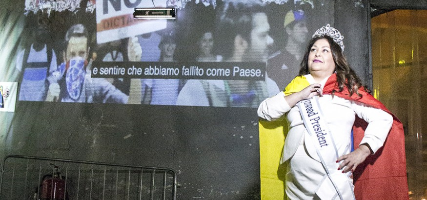 Nina Dotti en Roma