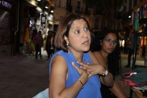 Mariela Celis en Madrid