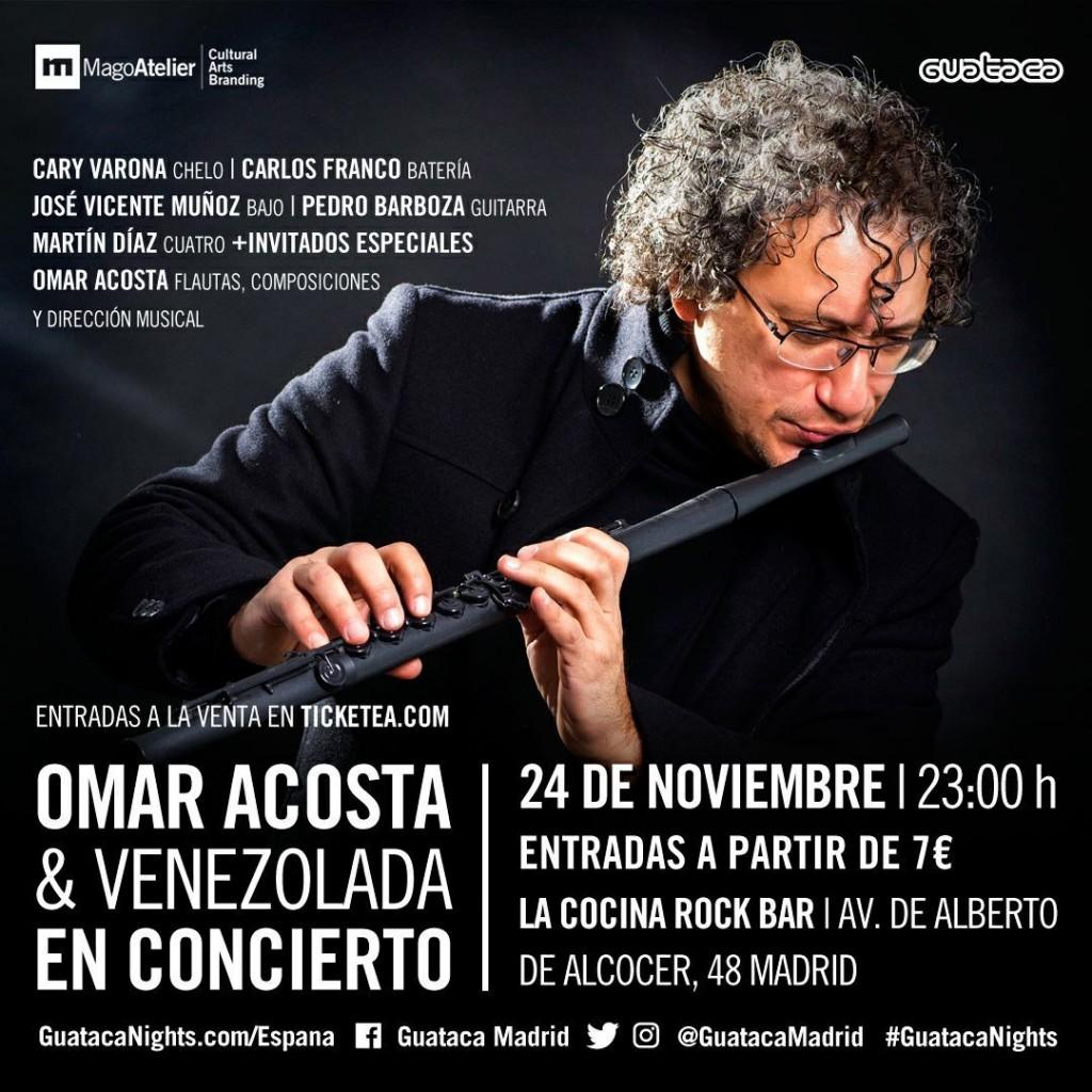 Omar Acosta en concierto