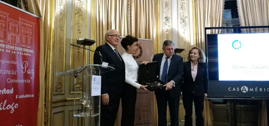 Premio Palabra para Lilian Tintori