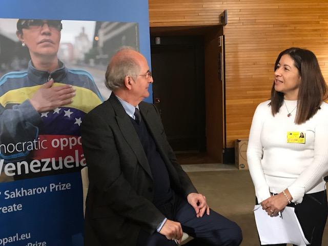 Carleth Morales entrevista a Antonio Ledezma