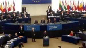 Premio Sajarov en Estrasburgo