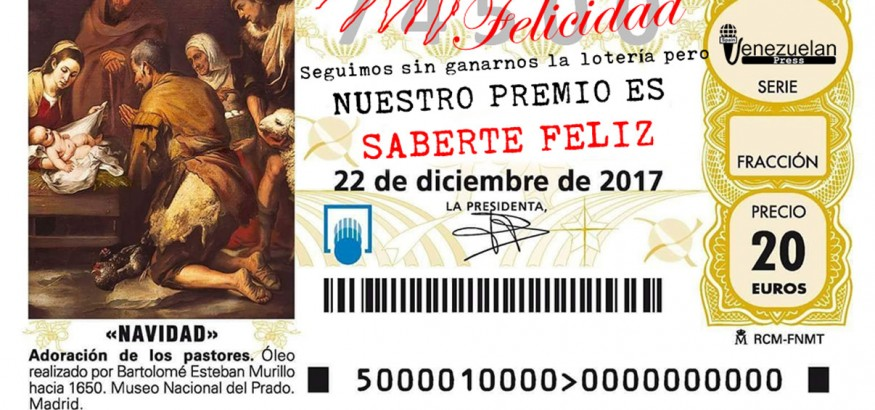 Feliz Navidad te desea Venezuelan Press
