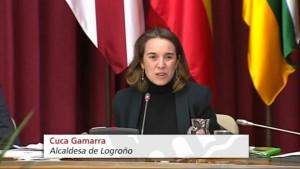 Cuca Gamarra Logroño aprueba el envío de ayuda humanitaria a Venezuela