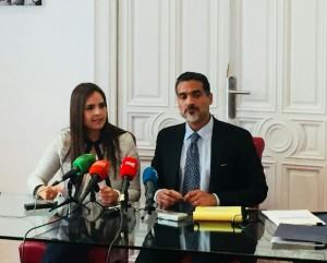 Tamara Suju y Juan Carlos Gutierrez