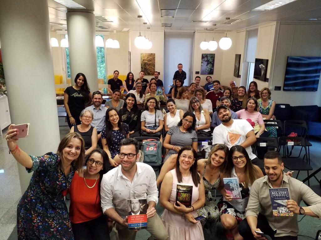Escritores venezolanos en Madrid