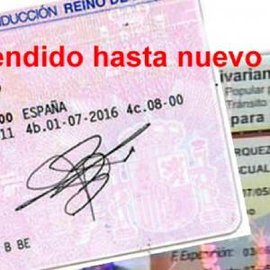 Suspenden canje de licencias venezolanas en España