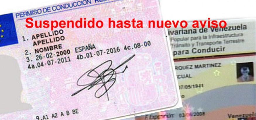 canje carnet de conducir venezolano