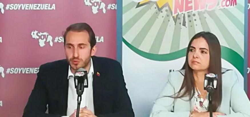 Tamara Suju y Fabio Valentini