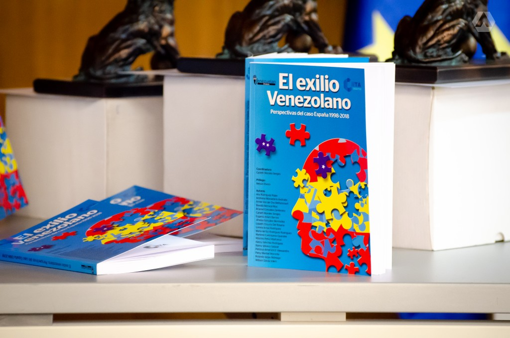 Libro: El exilio venezolano. Foto: Raúl Briceño